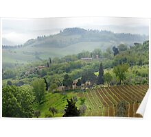 Tuscan Dreamscape Poster