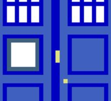 8-Bit Doctor Who Police Box. The TARDIS! Sticker