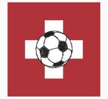 Switzerland Flag | Soccer Ball by piedaydesigns