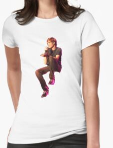 Bo Burnham Sticker Womens Fitted T-Shirt