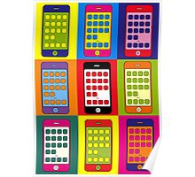 iPhones (Andy Warhol)  Poster