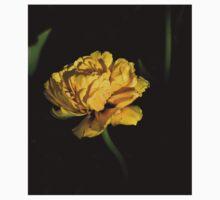 yellow tulip Baby Tee
