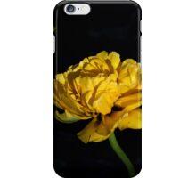 yellow tulip iPhone Case/Skin