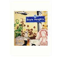 record shop in Boyle heights Art Print