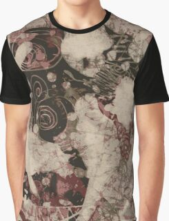 Blurry face skull Graphic T-Shirt