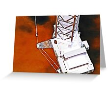 science fiction machine 2 Greeting Card