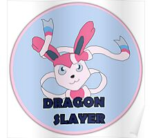 Sylveon the Dragon Slayer Poster