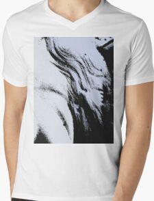 The Waves Mens V-Neck T-Shirt
