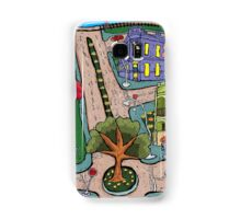 Sunday Morning Country Town  Samsung Galaxy Case/Skin