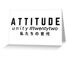 Attitude Greeting Card
