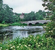 Crawford Bridge, Blandford Forum,  Dorset by AnnDixon