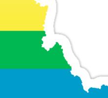 rainbow idaho Sticker