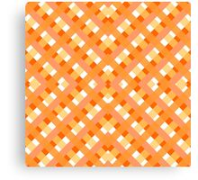 orange fabric  Canvas Print