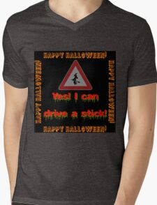 Yes I Can Drive A Stick Mens V-Neck T-Shirt