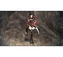 Armored woman Photographic Print