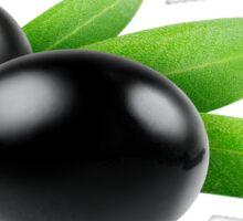 Black olives Sticker