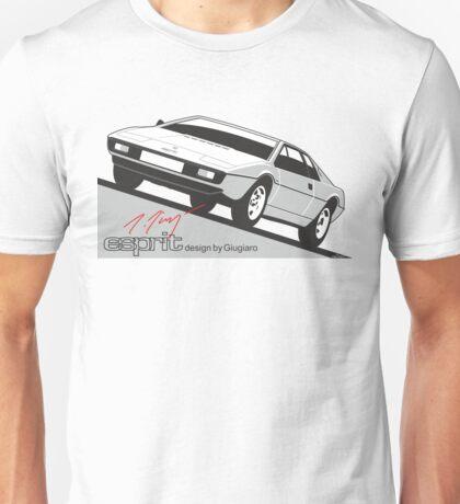 Lotus Esprit by Giugiaro Unisex T-Shirt