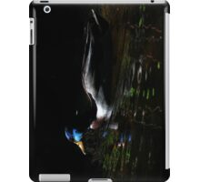 Mallard on Llangollen canal iPad Case/Skin