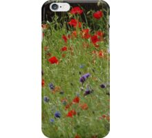 Field of Poppies iPhone Case/Skin
