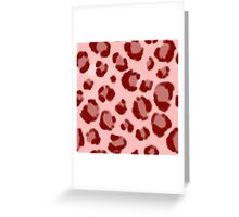 Abstract decorative carpet fur  Greeting Card