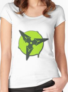 Throwing Star! Women's Fitted Scoop T-Shirt