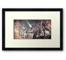 Dragon Cannon Commander Framed Print
