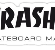 Thrashed Sticker