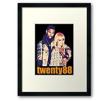 Twenty88 (Big Sean x Jhene Aiko) Framed Print