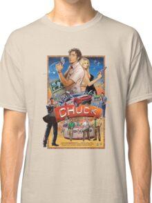 Funny Chuck TV Poster Classic T-Shirt