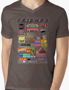 Friends TV Sayings Mens V-Neck T-Shirt
