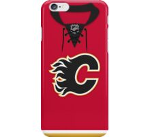 Calgary Flames Home Jersey iPhone Case/Skin