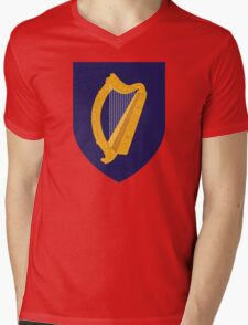 Ireland Coat Of Arms Mens V-Neck T-Shirt