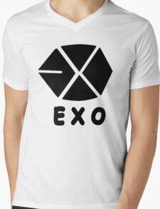 Kpop EXO Symbol Mens V-Neck T-Shirt