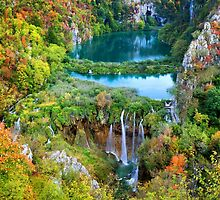 Plitvice Lakes National Park in Croatia by Artur Bogacki