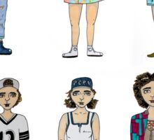 Broad City Outfits Sticker