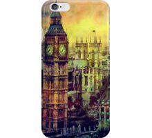 London BigBen Watercolor iPhone Case/Skin