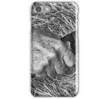 Shears of time iPhone Case/Skin
