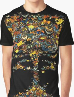 Atomic Butterfly Graphic T-Shirt