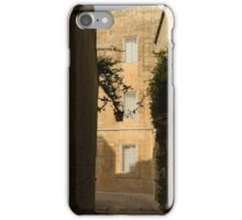 The Sunny Side of the Street - Mdina, the Ancient Capital of Malta iPhone Case/Skin