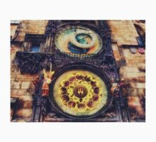 Prague Clock Orloj Kids Tee