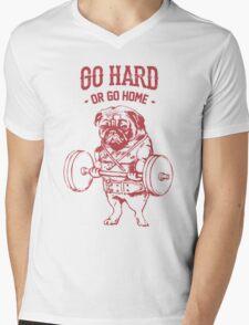 Go hard or go Home Mens V-Neck T-Shirt