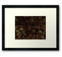 Abstract Matrix Framed Print