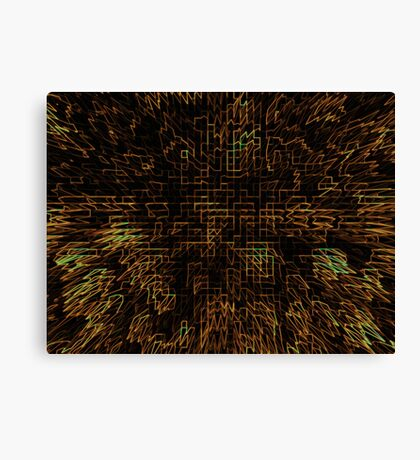 Abstract Matrix Canvas Print