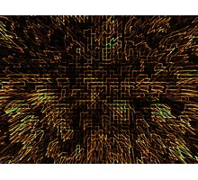 Abstract Matrix Photographic Print