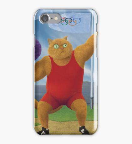 Cat Olympics iPhone Case/Skin