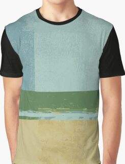 #4 Lines and colors minimalist abstract art print Graphic T-Shirt