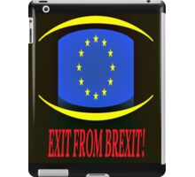 Exit From Brexit iPad Case/Skin