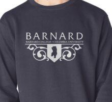 Barnard Logo- White Pullover