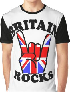 BRITAIN ROCKS Graphic T-Shirt