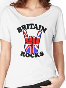 BRITAIN ROCKS Women's Relaxed Fit T-Shirt